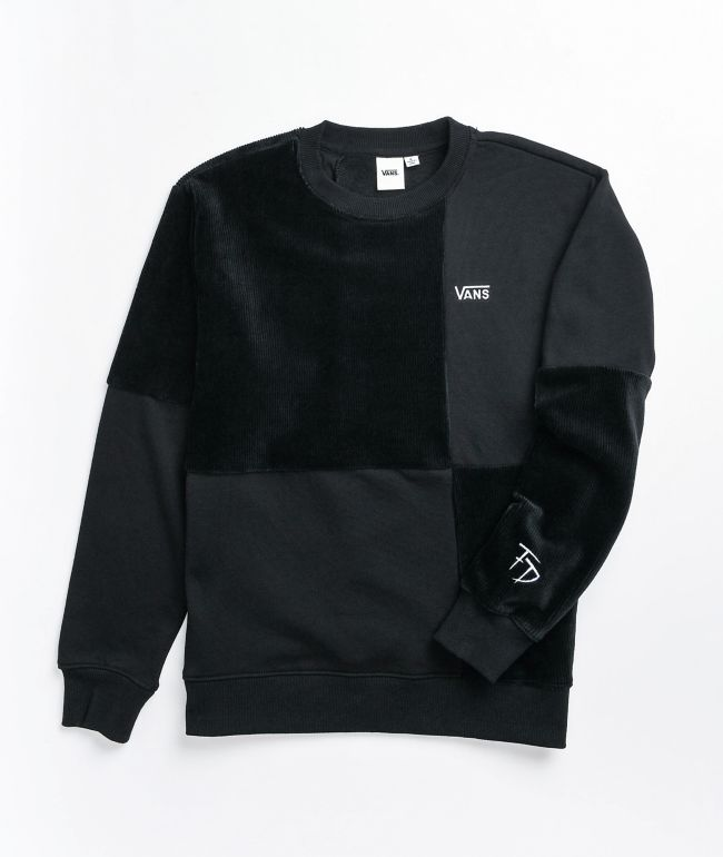 Vans Fabiana Black Crewneck Sweatshirt