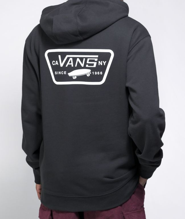 Vans Full Patched II Black Hoodie