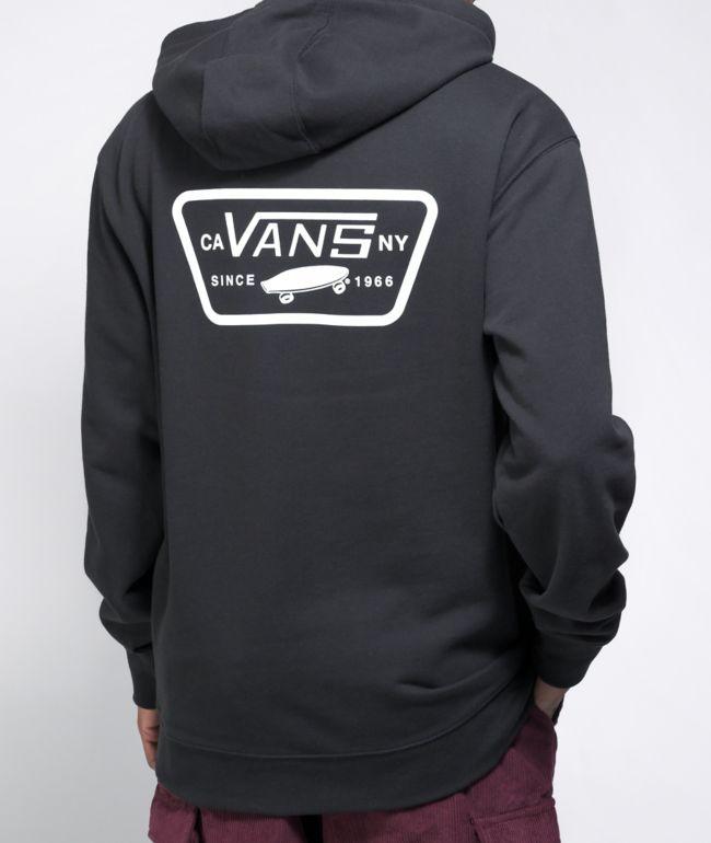 Vans Full Patched II Black Hoodie