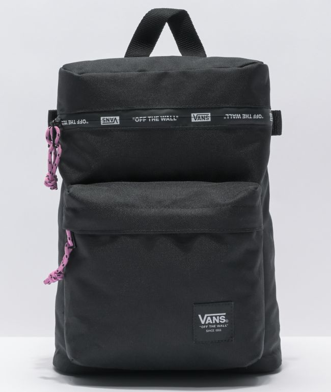 Vans Gripper Black Backpack