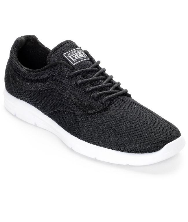 Vans Iso 1.5 Mesh Black Shoes | Zumiez