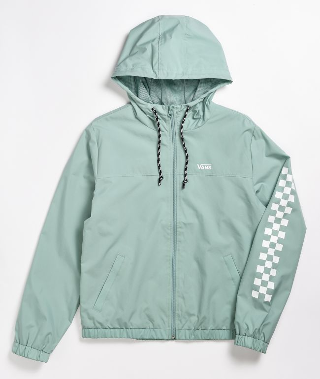 Vans Kastle Classic Mint Windbreaker Jacket