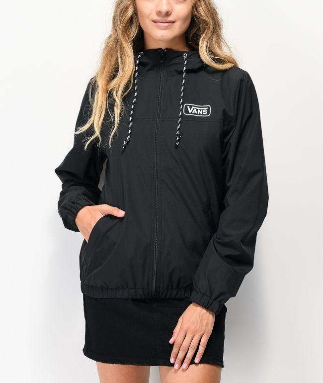 Vans Kastle III chaqueta cortavientos negra