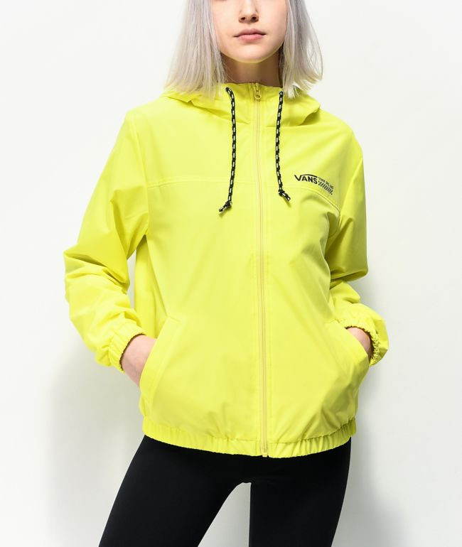Vans Kastle Turvey Neon Yellow Windbreaker Jacket