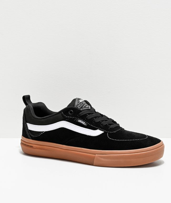 Vans Kyle Walker Pro Black, White & Gum Skate Shoes