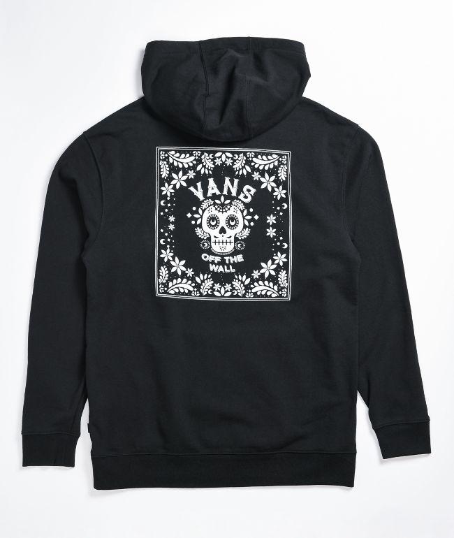 Vans Las Calaveras Black Hoodie