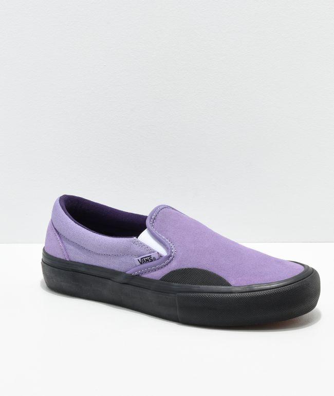 Vans Lizzie Armanto Slip-On Pro zapatos de skate Daybreak y negros