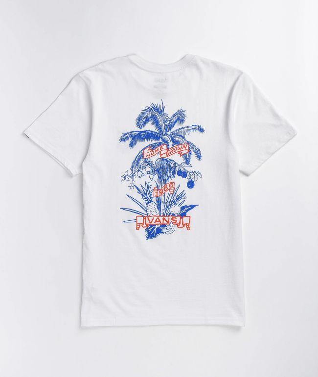 Vans Market Print White T-Shirt