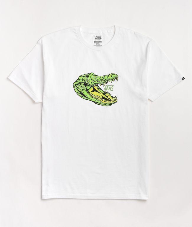 Vans Micro Dazed Croc White T-Shirt
