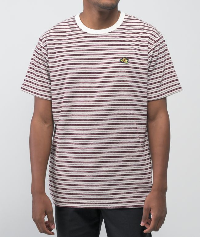 Vans Micro Dazed Red & White Stripe T-Shirt
