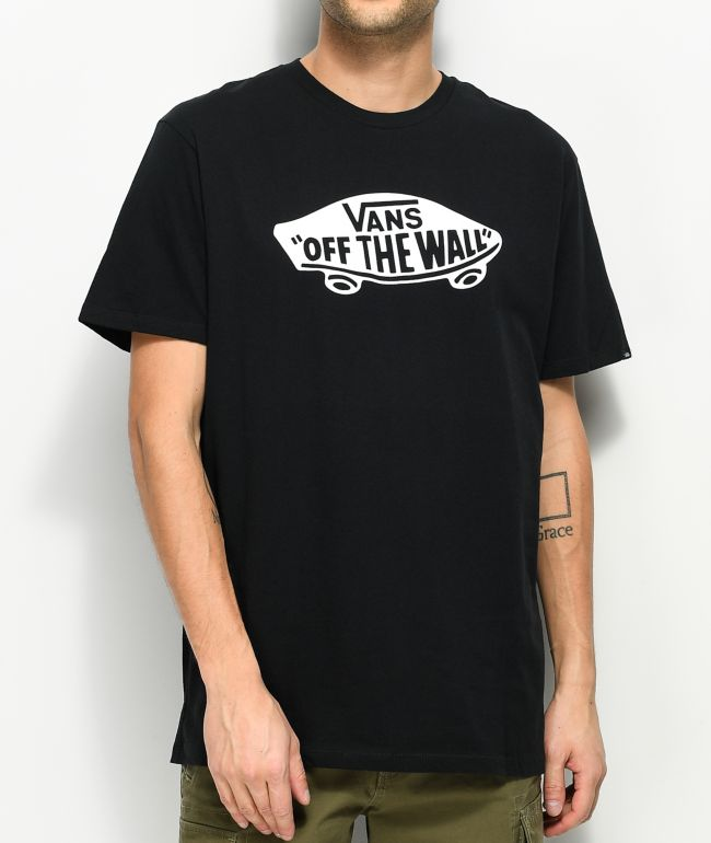 Vans Off The Wall Black \u0026 White T-Shirt