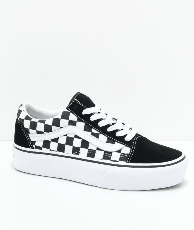 Vans Old Skool Black \u0026 White Checkered