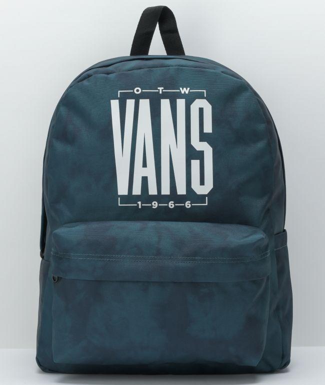 Vans Old Skool H2O Blue Coral Tie Dye Backpack