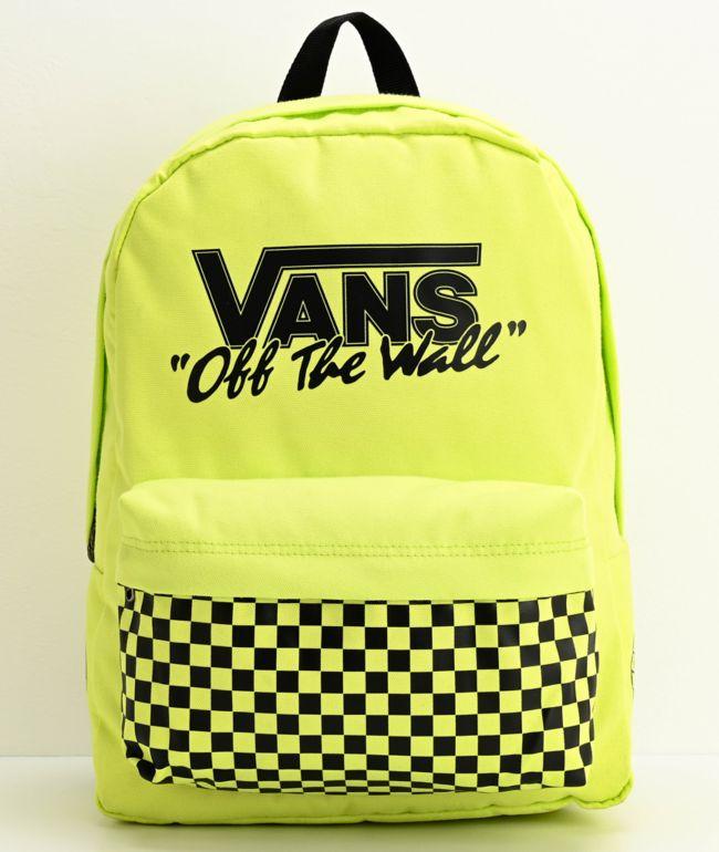 Vans Old Skool III Sharp Green Backpack