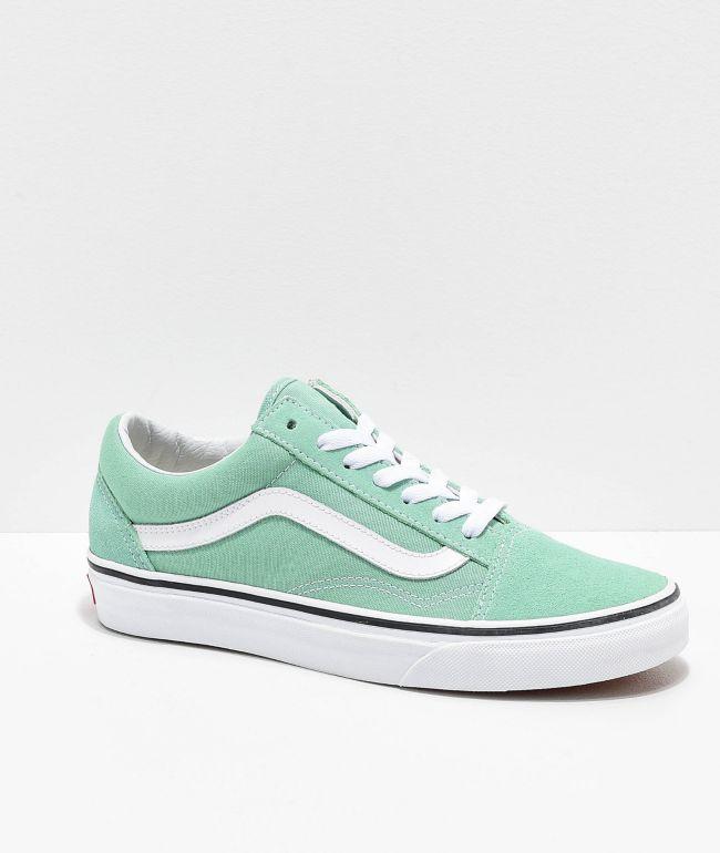 Vans Old Skool Neptune Green \u0026 White