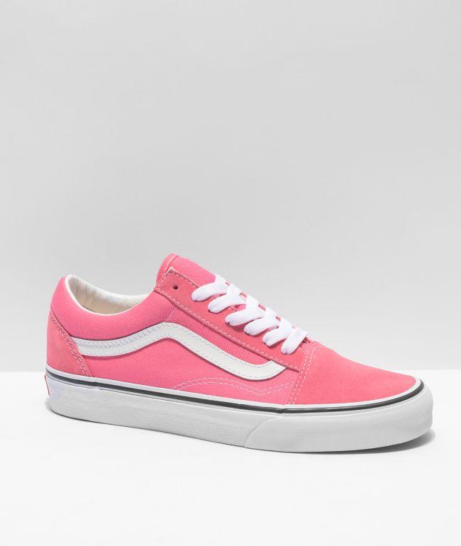 Vans Old Skool Pink Lemonade Skate Shoes