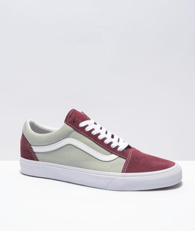 Vans Old Skool Port Royale & Grey Skate Shoes
