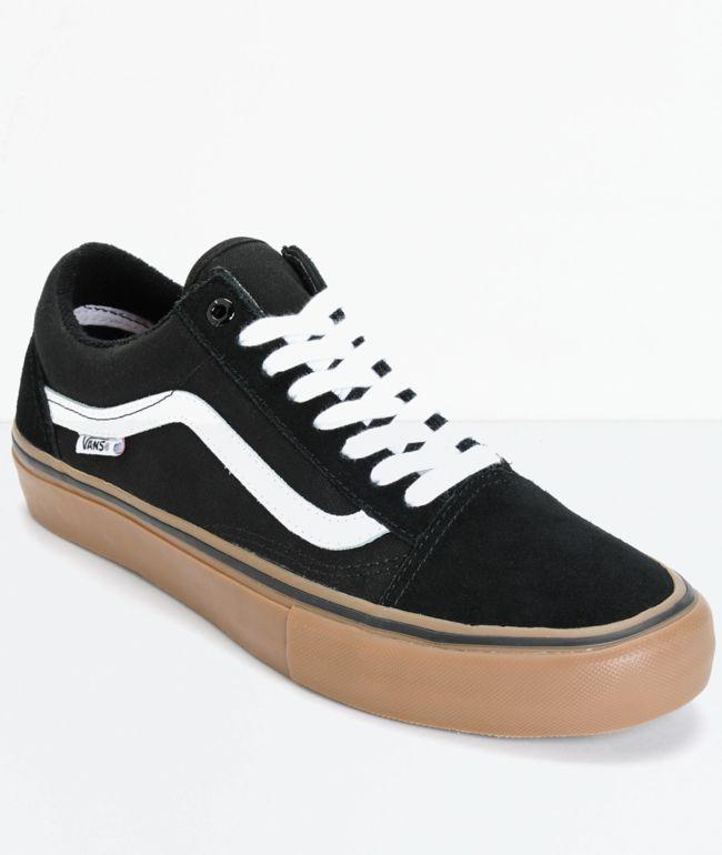 Vans Old Skool Pro Black, White \u0026 Gum