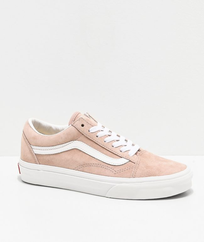 Vans Old Skool Shadow Pig Suede Skate Shoes