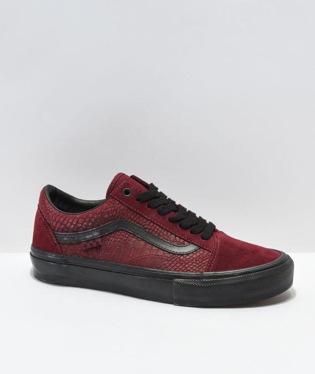 Vans Old Skool Skate Breana Geering Port Royale & Black Skate Shoes