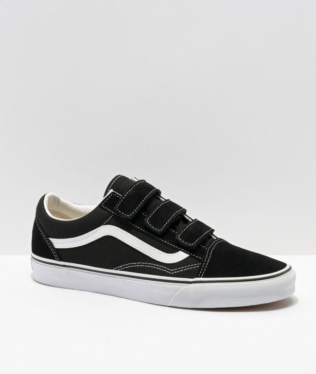 Vans Old Skool V Black \u0026 White Skate