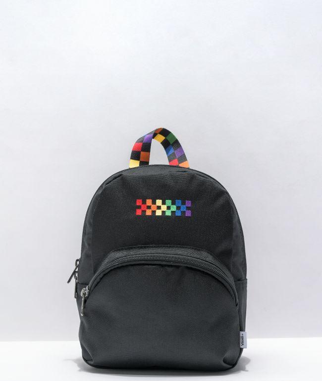 Vans Pride Got This Black Mini Backpack