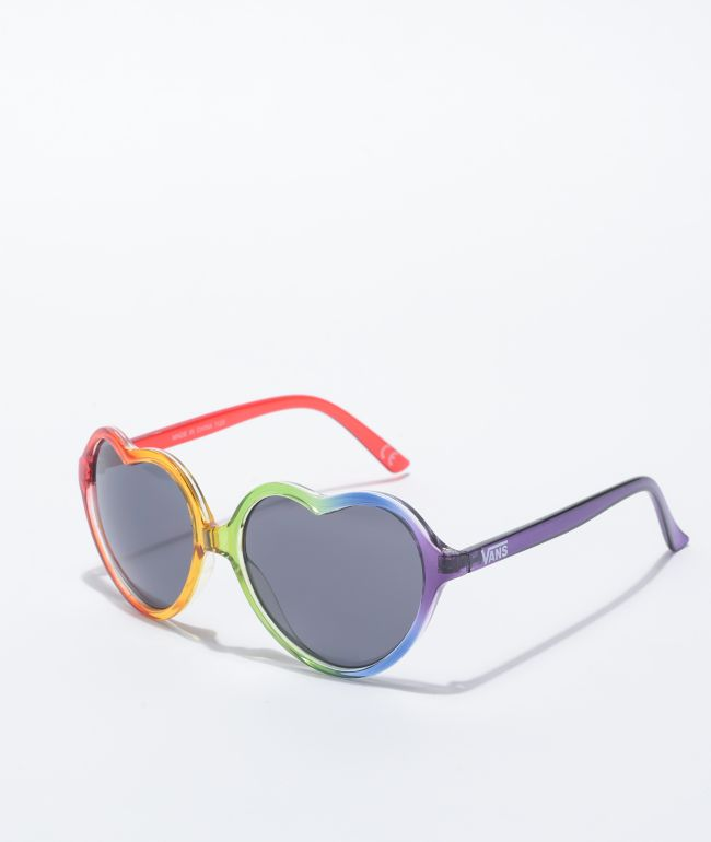 Vans Pride Rainbow Heart Sunglasses