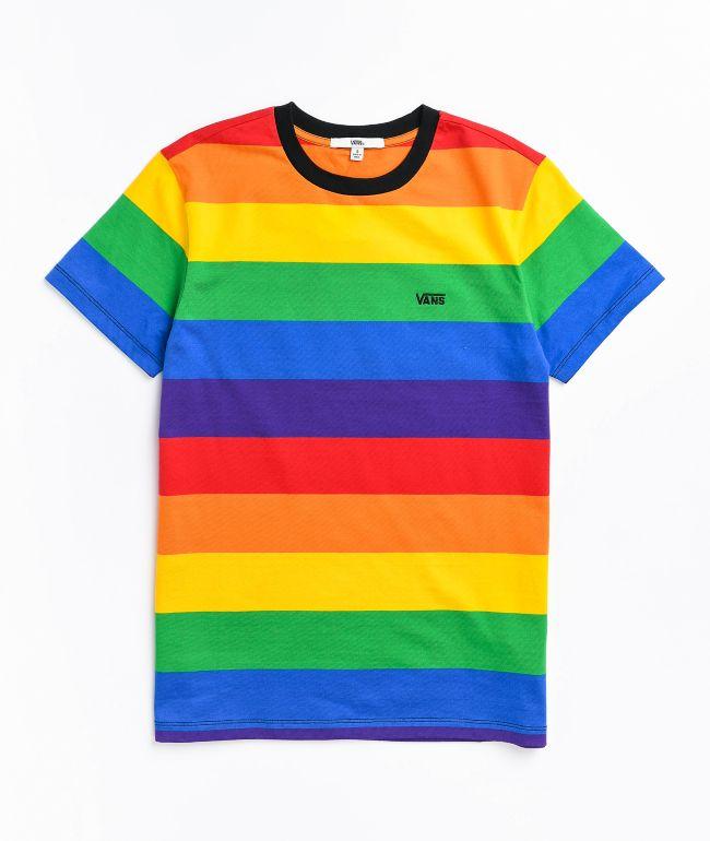 Vans Pride Rainbow Stripe T-Shirt