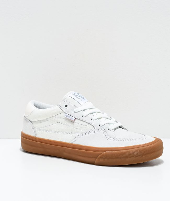 Vans Rowan Pro Pearl White \u0026 Gum Skate