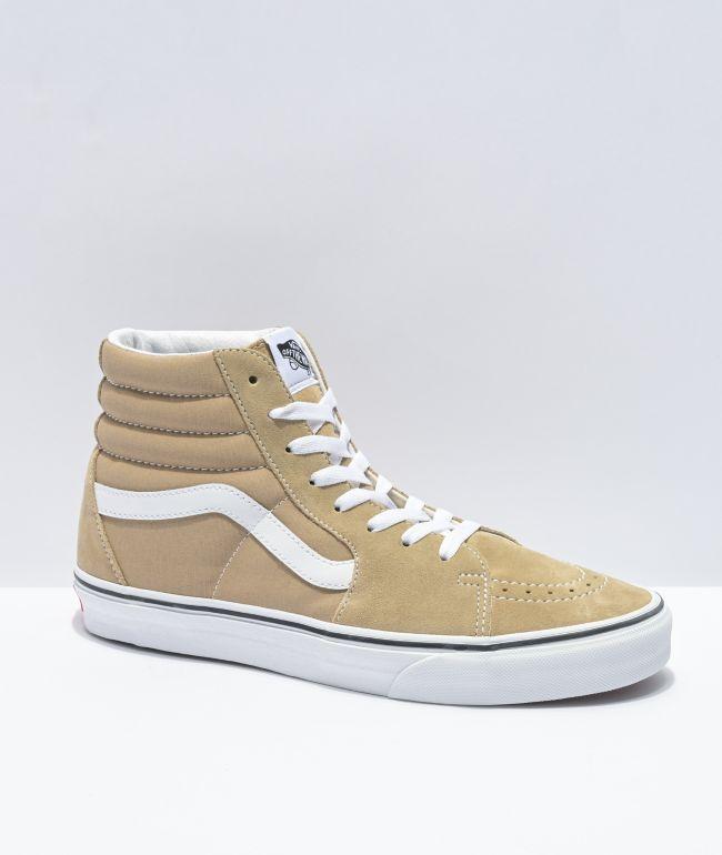 Vans Sk8-Hi Incense & White Skate Shoes