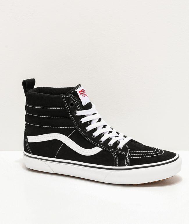 Vans Sk8-Hi MTE Black \u0026 White Shoes