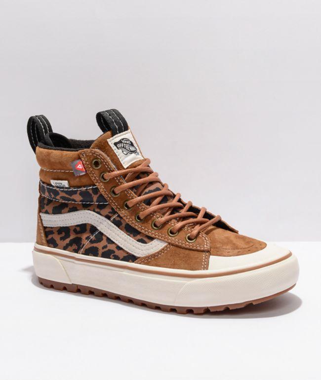 Vans Sk8-Hi MTE DX 2.0 Chipmunk & Leopard Shoes