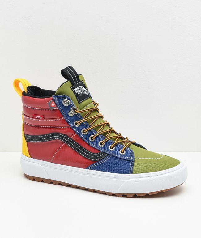 Vans Sk8-Hi MTE DX 2.0 Multicolor Shoes