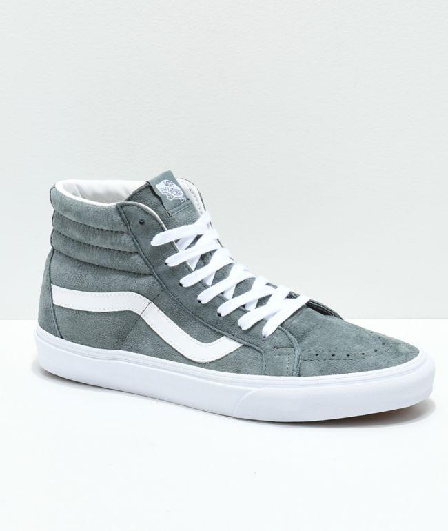 Vans Sk8-Hi Stormy Grey Skate Shoes
