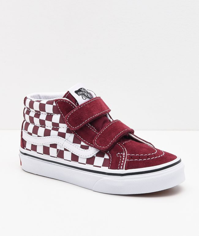 Vans Sk8-Mid Reissue V Pomegranate Skate Shoes