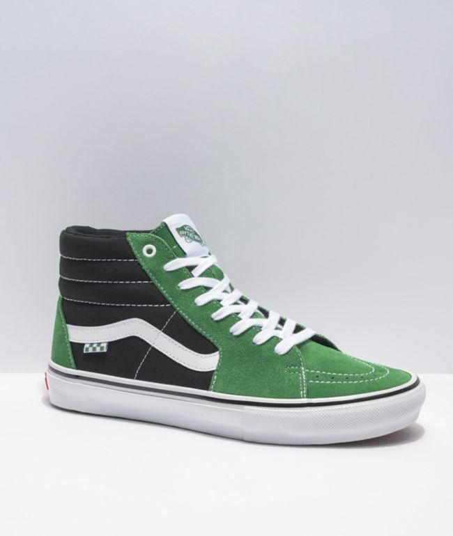 Vans Skate Sk8-Hi Juniper & Black Skate Shoes