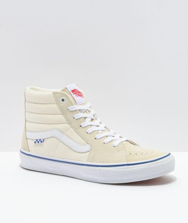 Vans Skate Sk8-Hi Off-White Skate Shoes