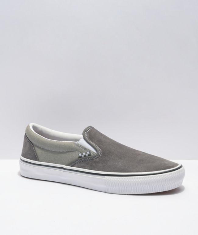 Vans Skate Slip-On Granite & Rock Skate Shoes