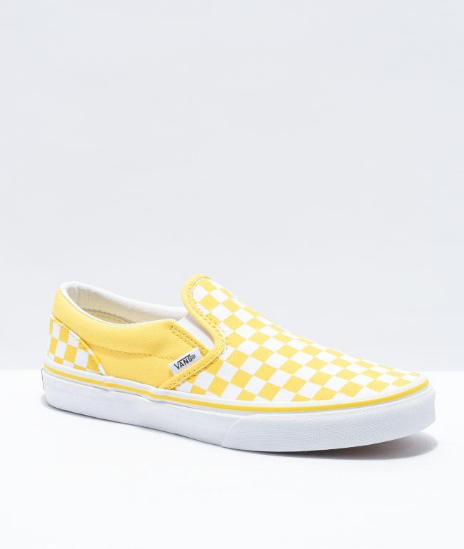 Vans Slip-On Aspen Gold \u0026 White