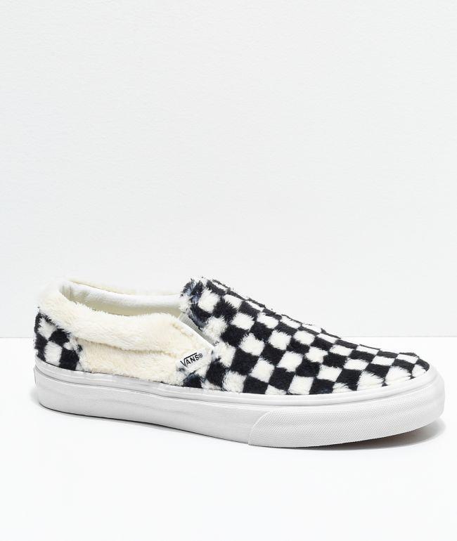 Vans Slip-On Checkered Black \u0026 White