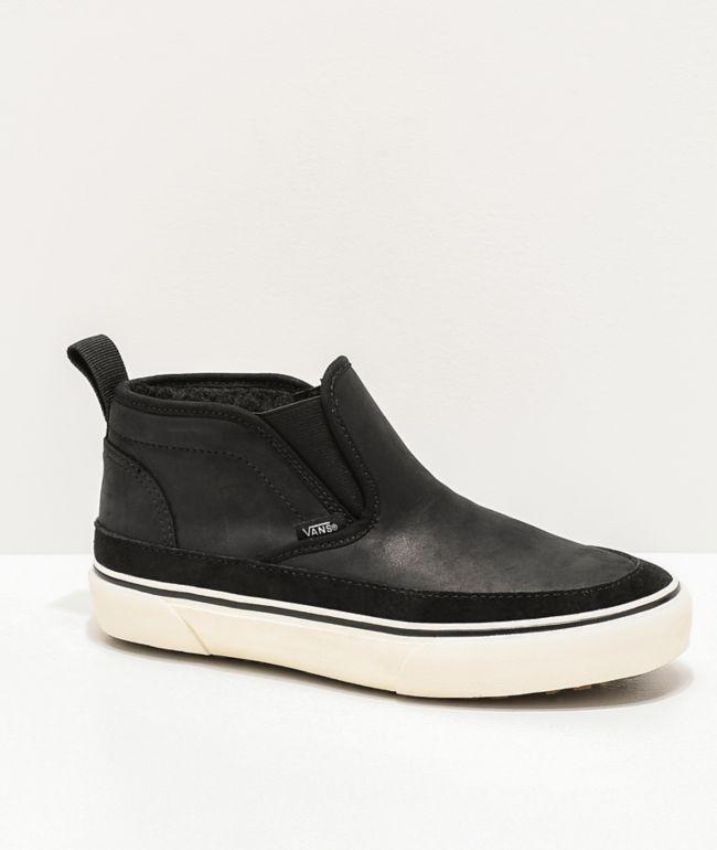 Vans Slip-On Mid MTE Black \u0026 White