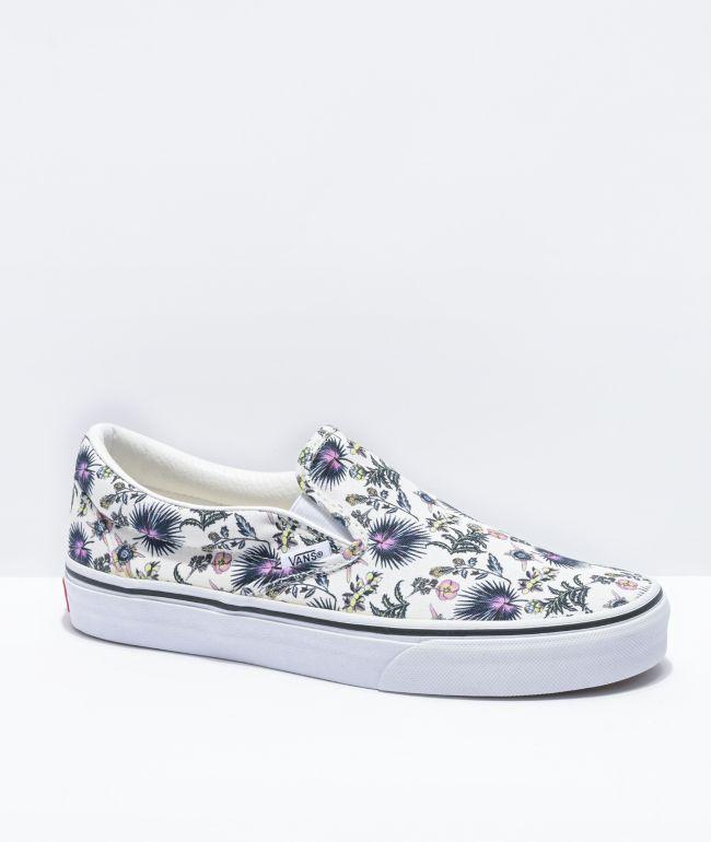 Vans Slip-On Paradise Floral Skate Shoes