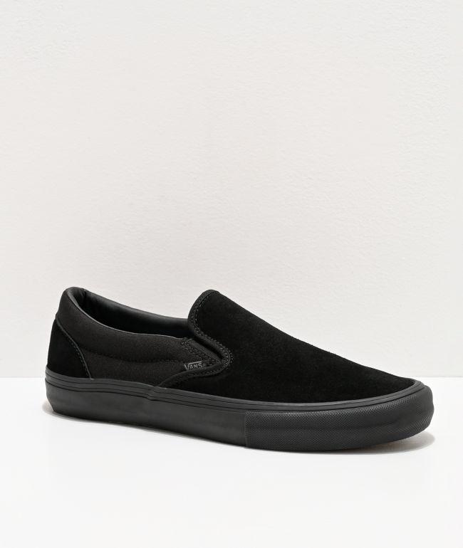 Vans Slip-On Pro Black Skate Shoes