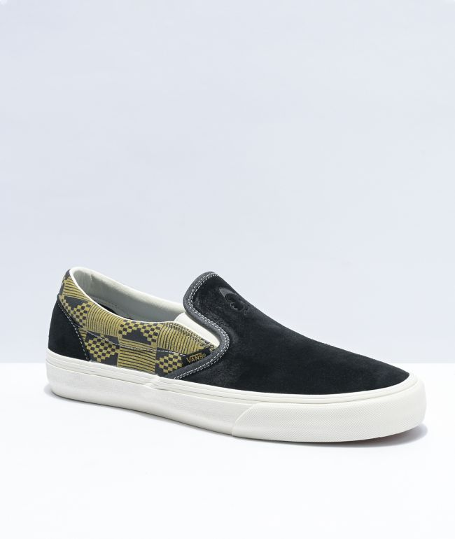 Vans Slip-On SF Black \u0026 Military Skate
