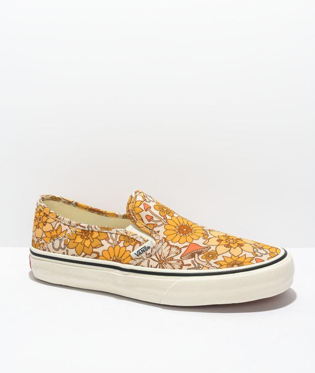 Vans Slip-On SF Trippy Floral Skate Shoes