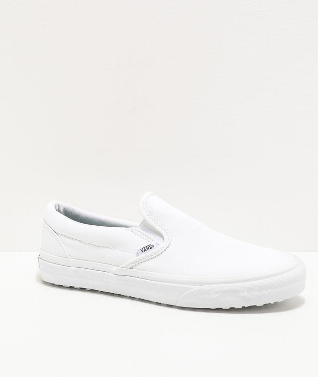 Vans Slip-On UC M4M White Mono Shoes