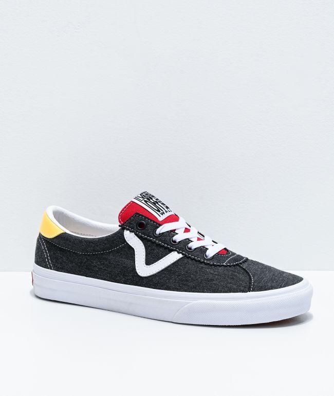 Vans Sport Coastal Black, Yellow \u0026 Red