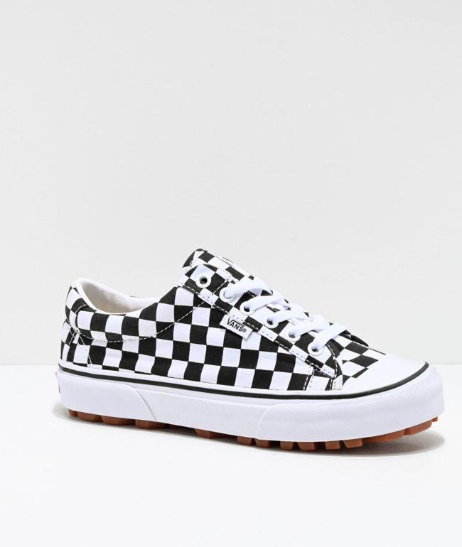 vans zapatos cuadros