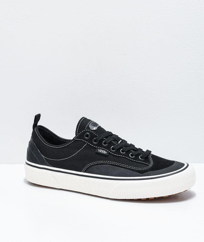 Vans Style 36 SF Destruct zapatos de lienzo blancos y negros