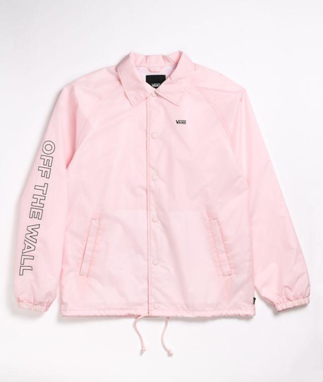 Vans Torey Pink Coaches Jacket   Zumiez